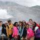 IPIC students group volcano cauldron