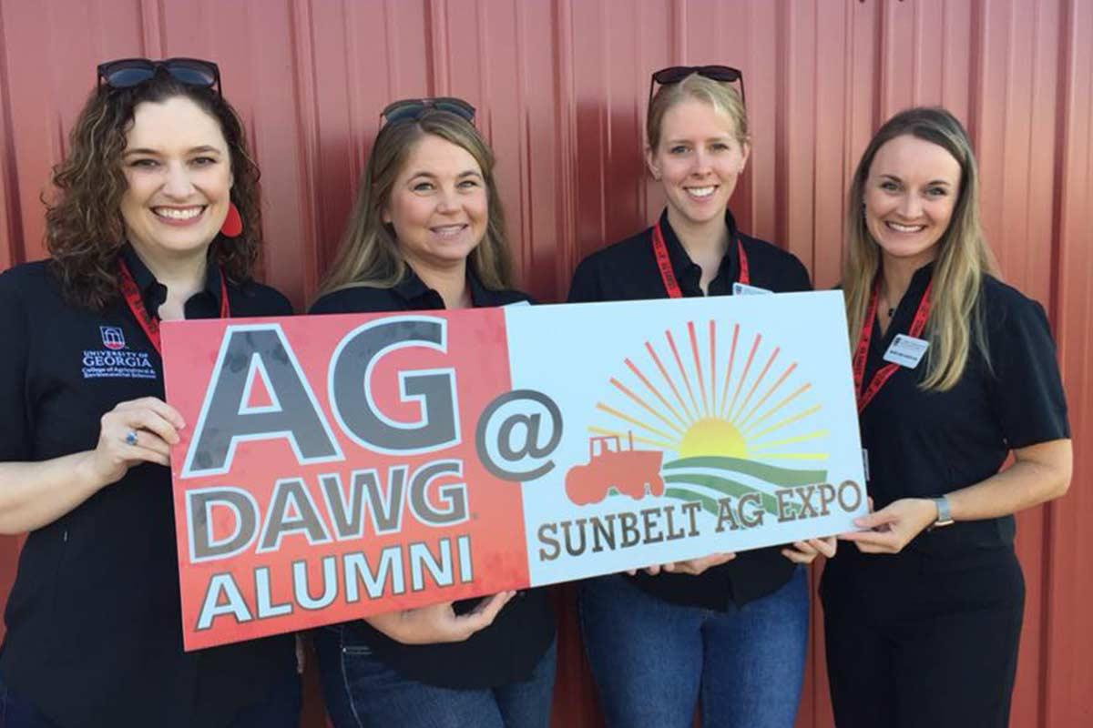 Ag Staff at Sunbelt Ag Expo