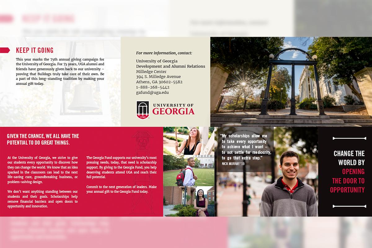 UGA Annual Giving Fall Direct Mailer