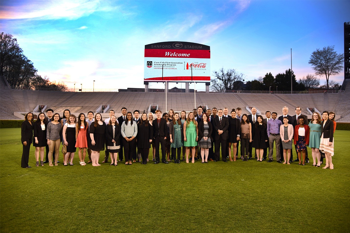UGA Office of Special Events Scholarship Program Welcome