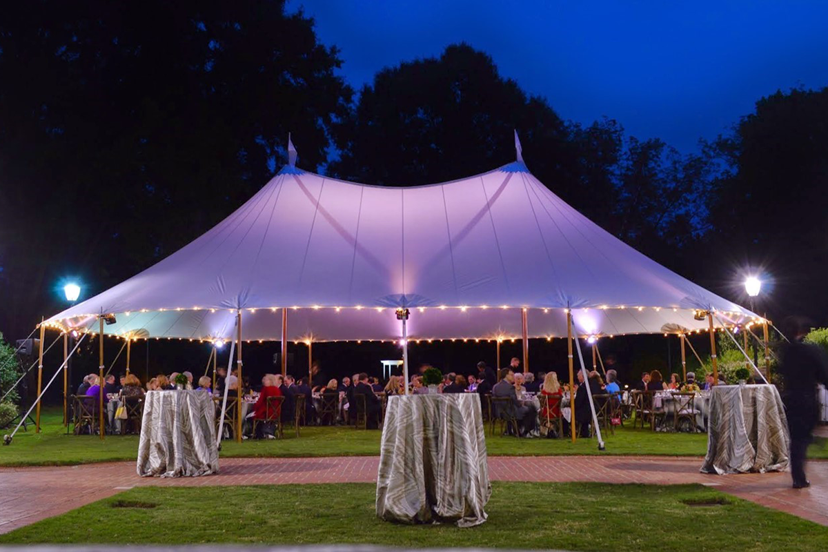 UGA Office of Special Events tented dinner