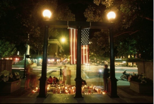 memorial at the Arch